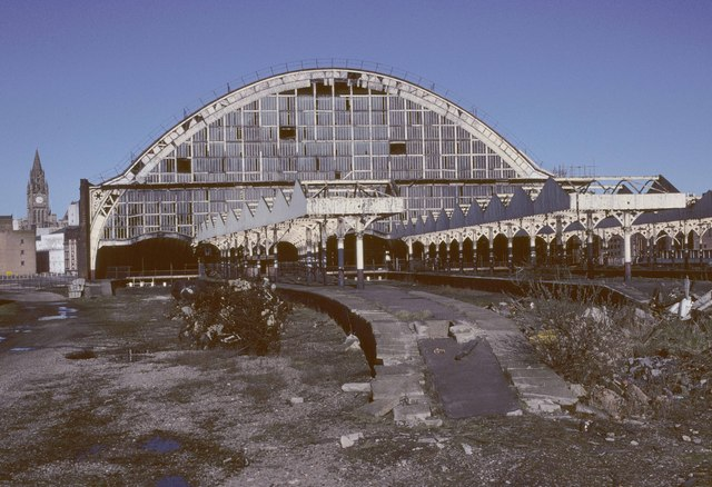 A Derelict Manchester Central Station Ian Capper