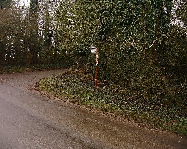 Barton Stacey -  Bus Stop