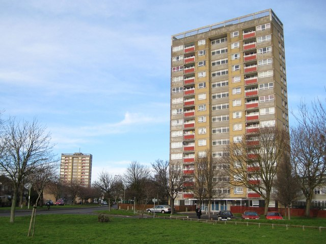 Oxford: Evenlode Tower, Blackbird Leys