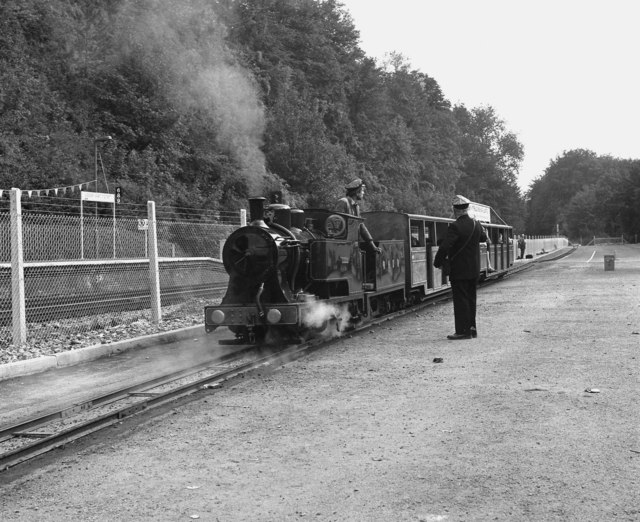 Miniature railway at Upper Warlingham
