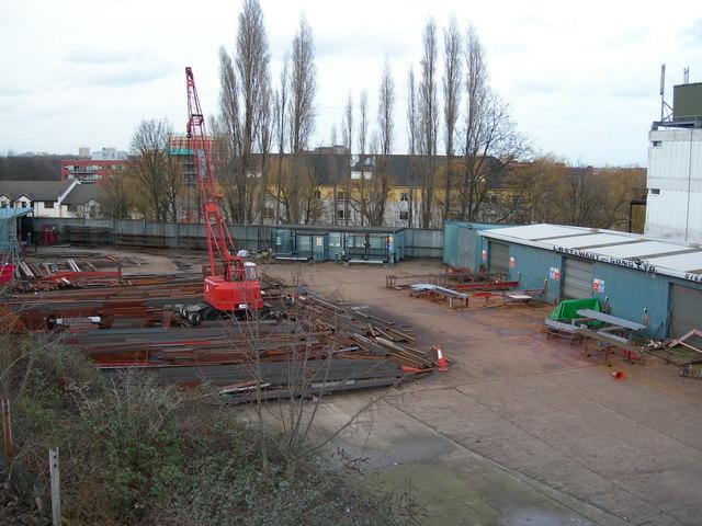 Steel Stockholder's Yard, Hornsey
