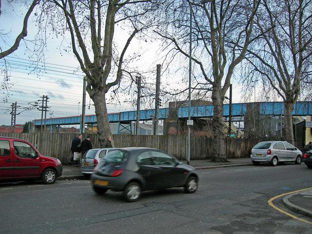 Footbridge over Railway at Hornsey