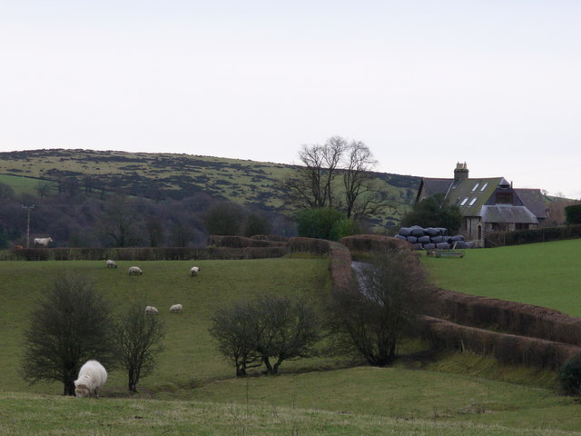 The Old Schoolhouse, west of Newchurch