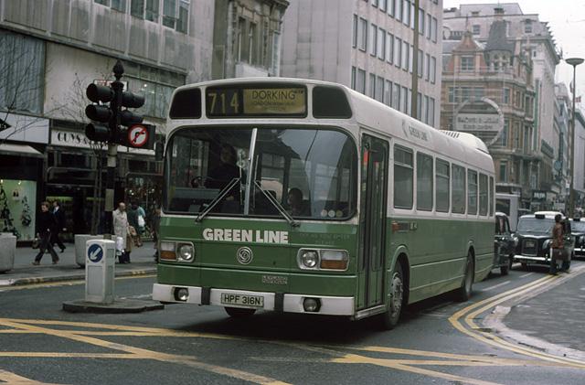 Green Line in Oxford Street