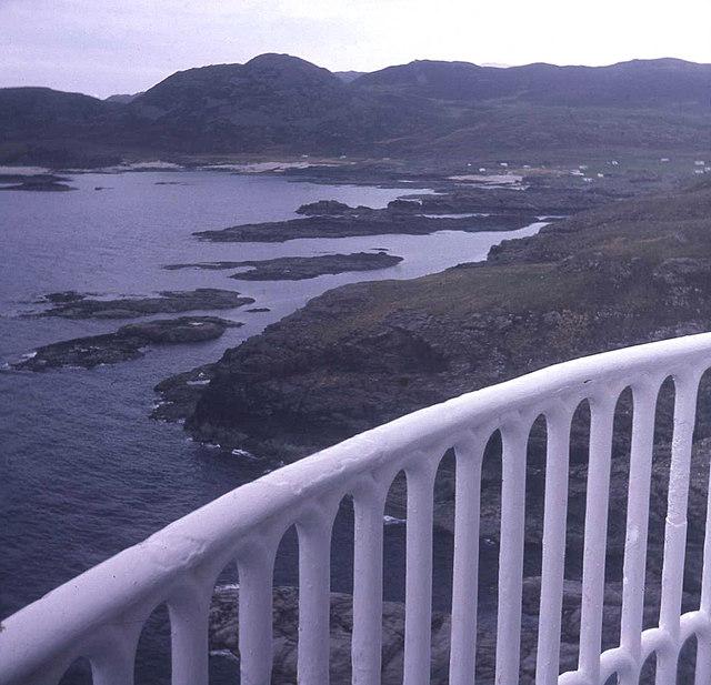 Coast east of Ardnamurchan Lighthouse
