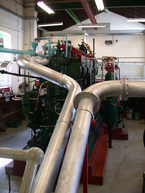 Inside the Drainage Engine Museum