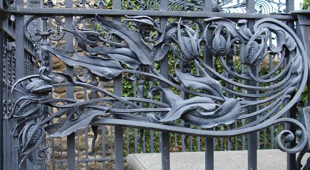 Tomb of Robert Owen - detail