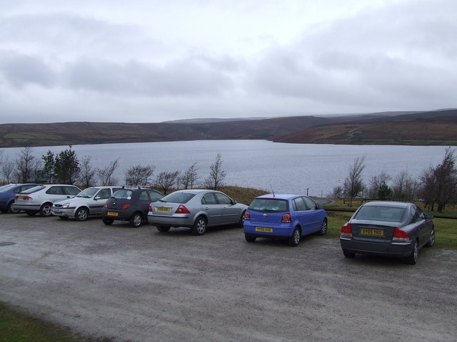 Parking & Picnic Area beside Grimwith Reservoir