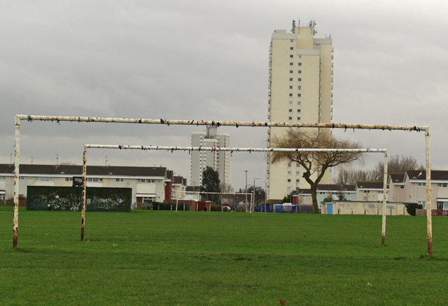 Orchard Park playing fields, Hull