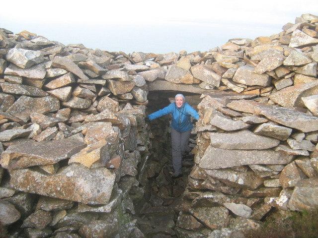 The back door of Tre'r Ceiri