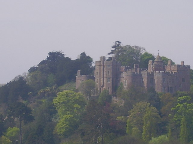 Dunster Castle, off the Taunton to Minehead Road