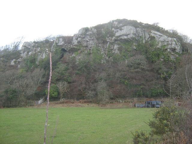 Crag at Bwlch-glas