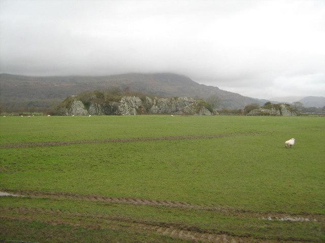 Farmland near Ynys y Gwely