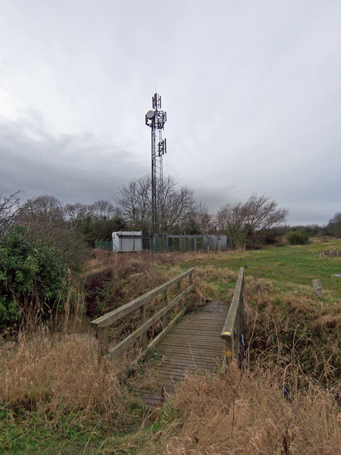 Footbridge and Aerial Tower