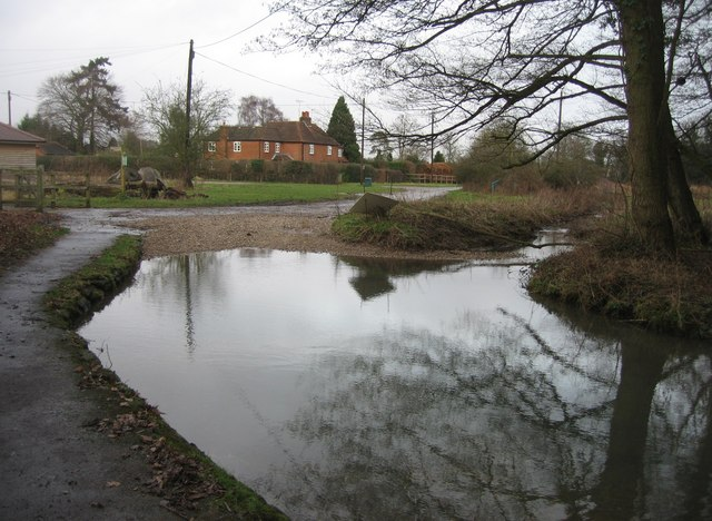 Ford at Warnborough Green