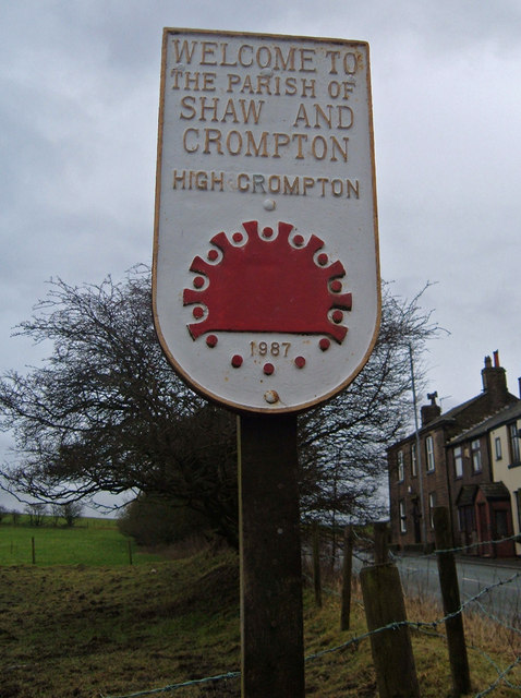 Shaw and Crompton Parish Boundary Plaque (3)