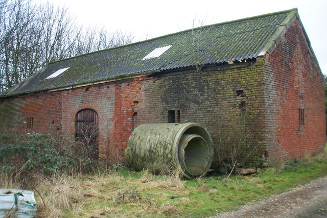 Old building at Cockthorne Farm