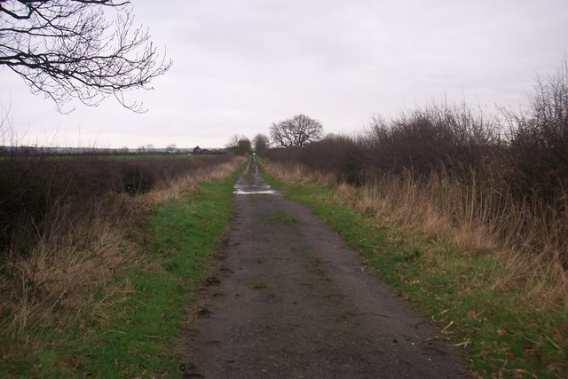 Track towards Prospect farm