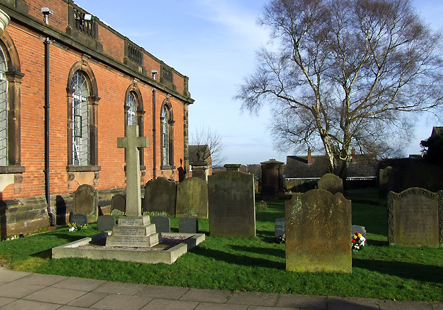 St Mary and St Luke's Churchyard, Shareshill, Staffordshire