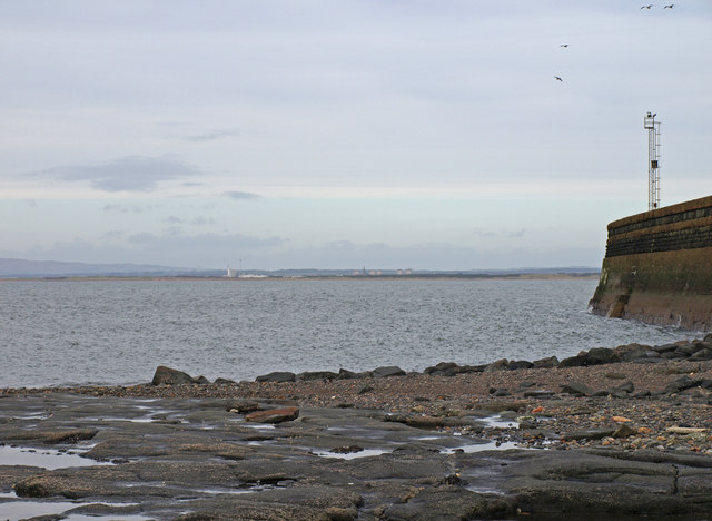 Troon, Outer Harbour Wall