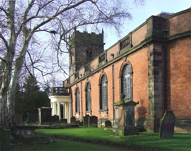 Church of St Mary and St Luke, Shareshill, Staffordshire