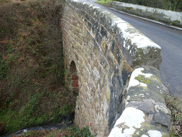 Road bridge over beck at Swang in Glaisdale