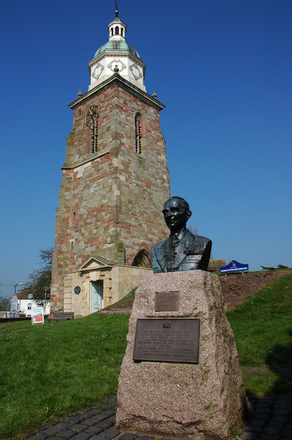 Pepperpot Tower and bust