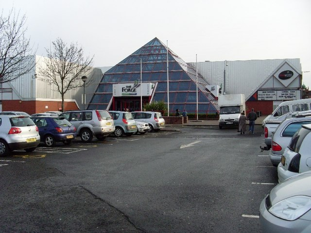 Entrance to Forge Shopping Centre