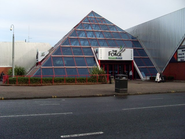 The Forge's Entrance Pyramid
