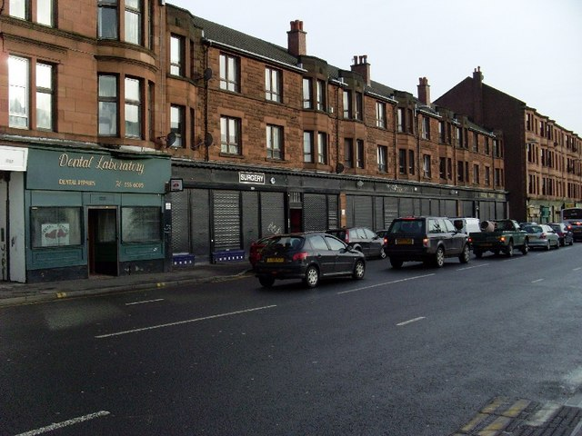 Tenements on the Gallowgate, Parkhead
