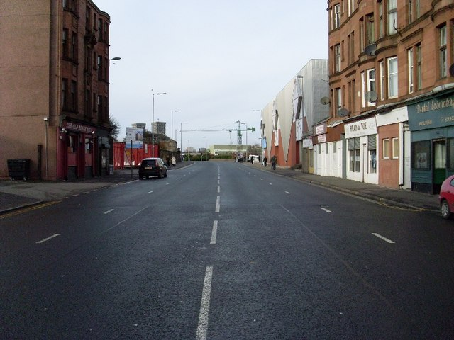 Gallowgate, looking West