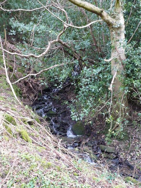 Waterfall near Finkel House Farm