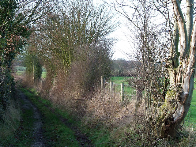 Public Track Way, Shareshill, Staffordshire