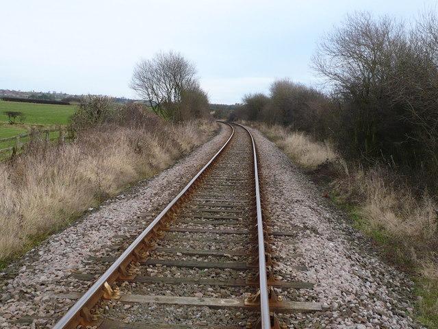 The Esk Valley railway line