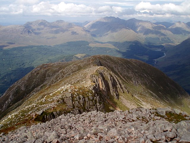 The route up to Ben Starav
