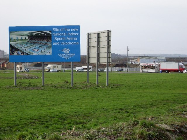 Site of new stadium for Commonwealth Games