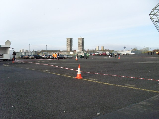 Car park at Celtic Park