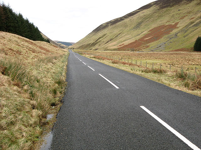 The Moffat to Selkirk Road