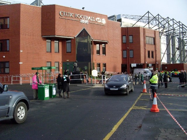 Celtic Park, Main Stand entrance