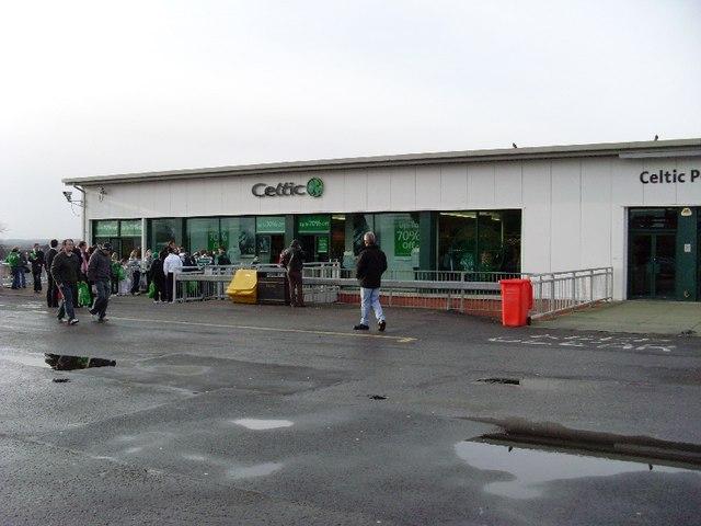 Celtic Superstore at Celtic Park
