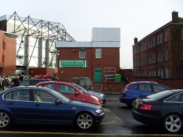 Ticket office at Celtic Park