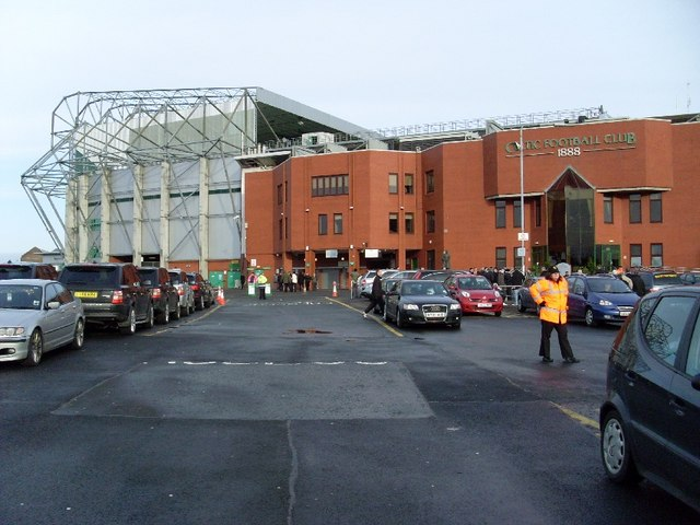 Main stand and Jock Stein Stand, Celtic Park