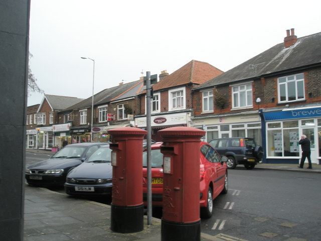 Postboxes in High Street