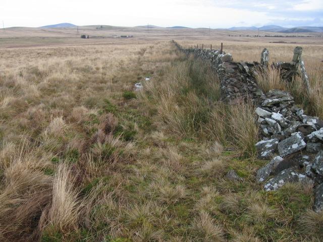 Moorland towards Red Moss