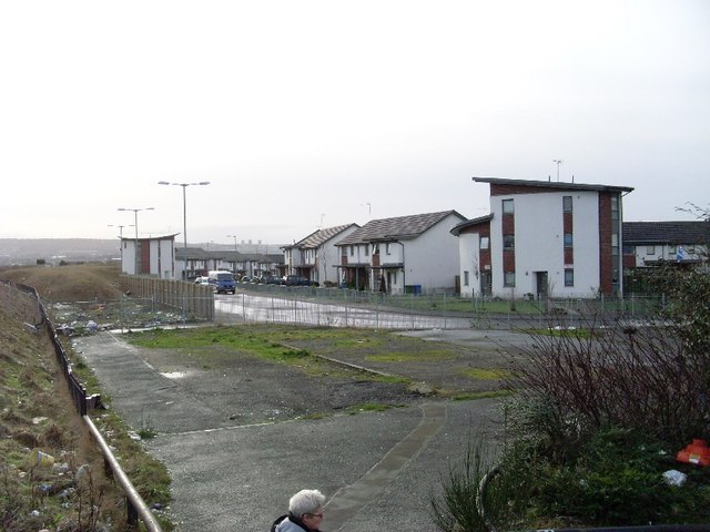 New housing in Parkhead
