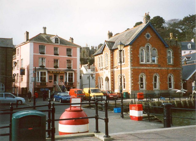 The King of Prussia, Town Quay, Fowey