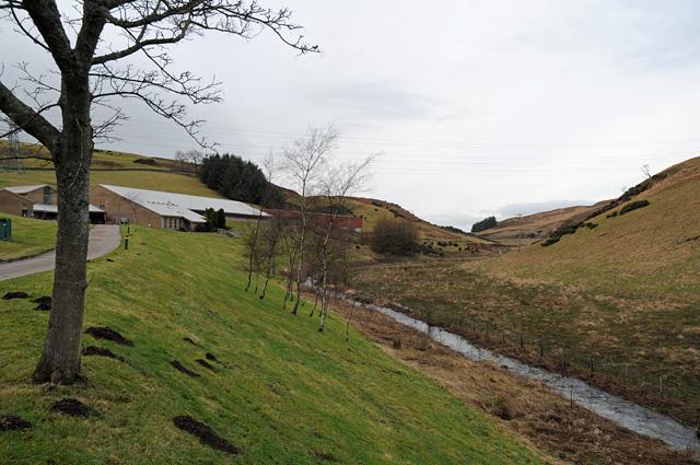 Glenfarg Water Treatment Works and River Farg