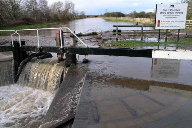 Sawley Cut overflows