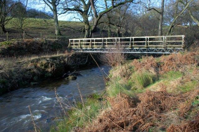 Footbridge Over the River Rye