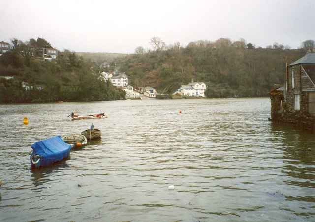 View of Bodinnick from Caffamill Pill, Fowey